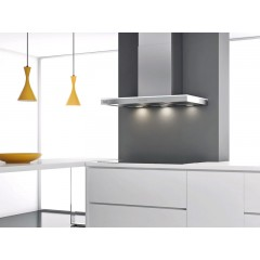9291 P417 Stainless Steel / DuPont Corian Led BackLit Wall Hood